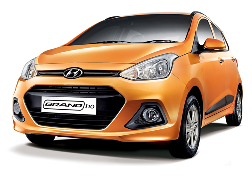 Hyundai Grand i10 Front Side View Picture