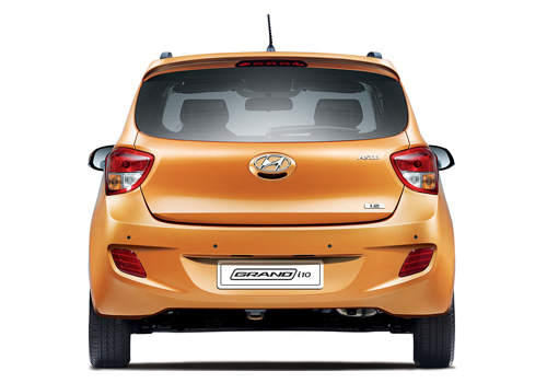 Hyundai Grand i10 Rear View Exterior Picture