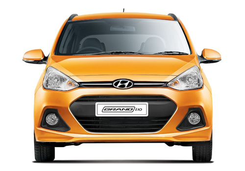 Hyundai Grand i10 Front View Picture