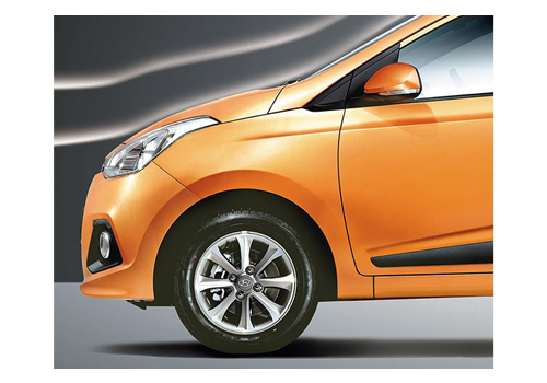 Hyundai Grand i10 Wheel and Tyre Exterior Picture