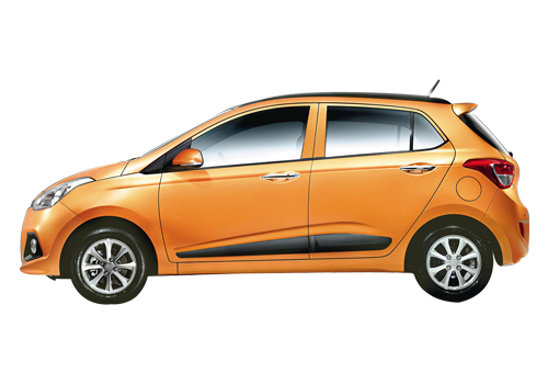 Hyundai Grand i10 Front Angle Side View Exterior Picture