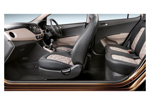 Hyundai Grand i10 Front Seats Interior Picture