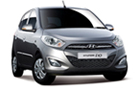 Hyundai i10 in Silver Color