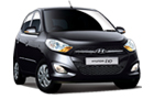 Hyundai i10 in Black Color