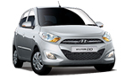 Hyundai i10 in Sleek Silver Color