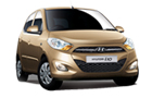 Hyundai i10 in Gold Color