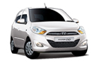 Hyundai i10 in White Color