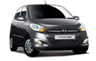 Hyundai i10 in Grey Color