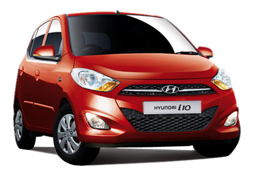 Hyundai i10 Front Low Angle View Exterior Picture