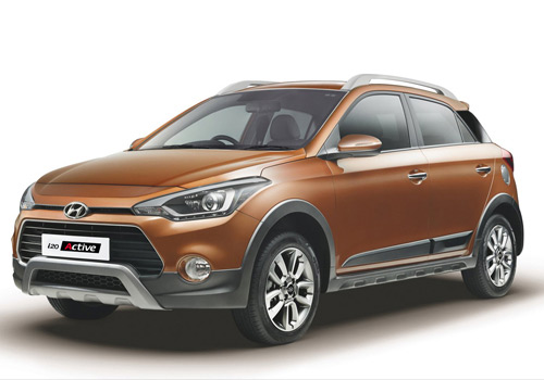Hyundai i20 Active Front Angle View Exterior Picture