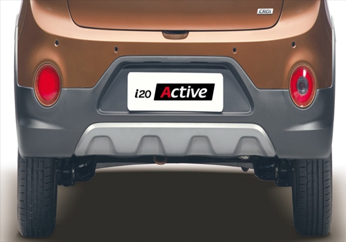 Hyundai i20 Active Exhaust Pipe Exterior Picture