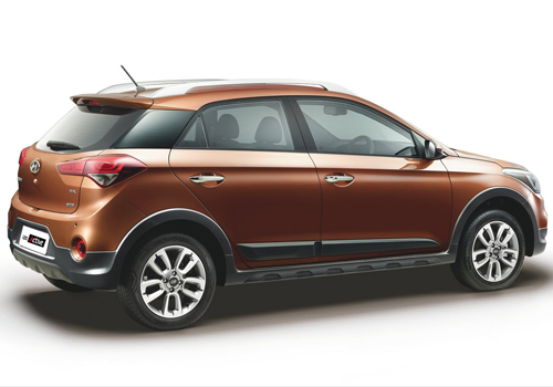 Hyundai i20 Active Cross Side View Exterior Picture