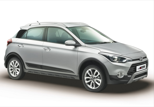 Hyundai i20 Active Front Low Angle View Exterior Picture