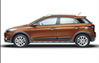 Hyundai i20 Active Front Angle Side View Picture