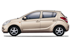 Hyundai i20 in Beige Color