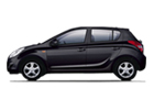 Hyundai i20 in Black Color