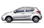 Hyundai i20 in White Color