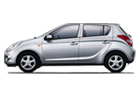 Hyundai i20 in Silver Color