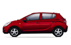 Hyundai i20 in Red Color