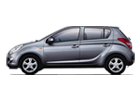 Hyundai i20 in Metallic Color