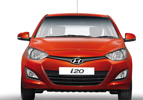 Hyndai Elite i20 Front View Picture