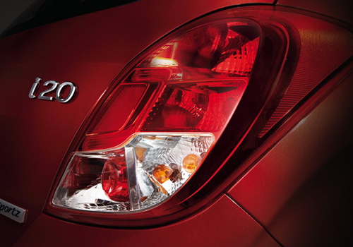 Hyundai i20 Tail Light Exterior Picture