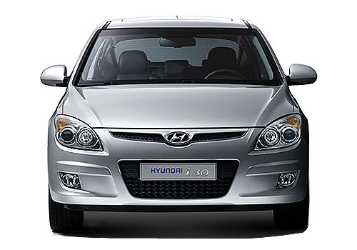 Hyundai i30 Front View Picture