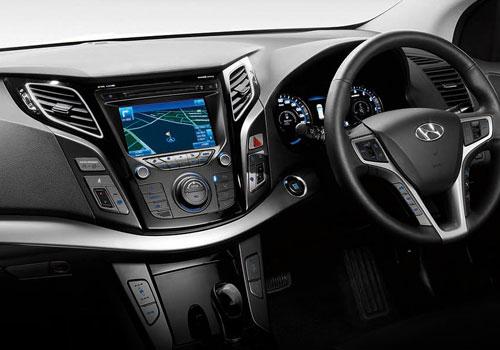 Hyundai i40 Front AC Controls Interior Picture   CarKhabri.com