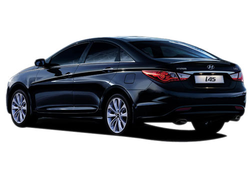Hyundai i45 Front Angle View Exterior Picture