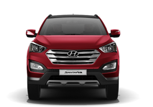 hyundai Santa Fe Front View Picture