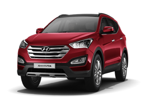 Hyundai Santa Fe Side Medium View Exterior Picture
