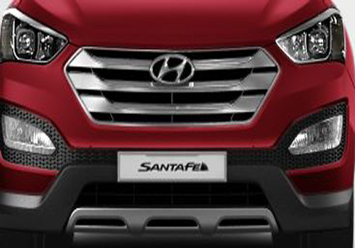 Hyundai Santa Fe Front High Angle View Exterior Picture