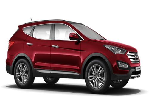 Hyundai Santa Fe Front Low Angle View Exterior Picture