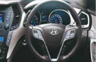 Hyundai Santa Fe Front Seats Picture