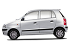 Hyundai Santro Xing in Silver Color