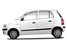 Hyundai Santro Xing in White Color