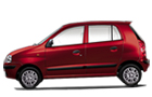 Hyundai Santro Xing in Red Color