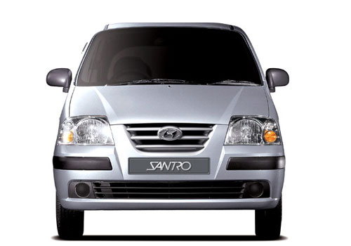 Hyundai Santro Front View Picture
