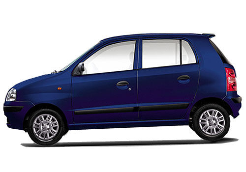 Hyundai Santro Xing Front Angle Side View Exterior Picture