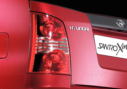 Hyundai Santro Xing Tail Light Exterior Picture