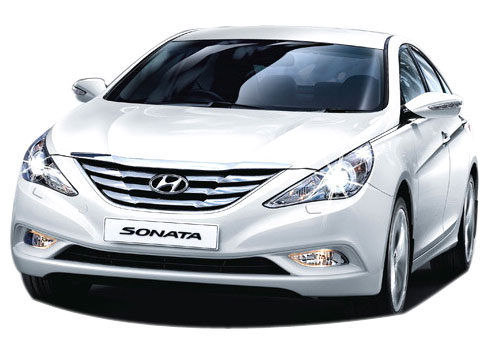 Hyundai Sonata Front View Side Picture