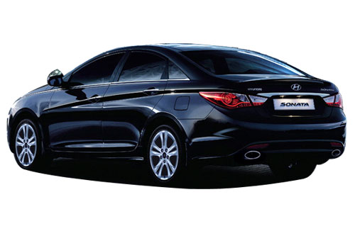 Hyundai Sonata Rear Side View Picture