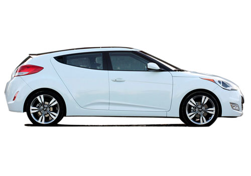Hyundai Veloster Side Medium View Exterior Picture