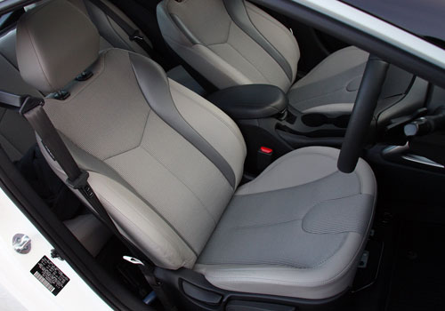 Hyundai Veloster Front Seats Interior Picture