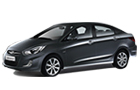 Hyundai Verna in Grey Color