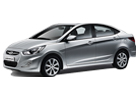Hyundai Verna in Silver Color