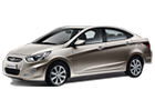 Hyundai Verna in Beige Color