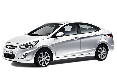 Hyundai Verna Front Angle View Exterior Picture