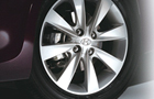 Hyundai Verna Wheel and Tyre Picture