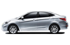 Hyundai Verna Front Angle Side View Picture